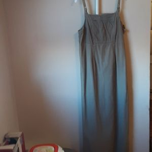 AMERICAN EAGLE OUTFITTERS OLIVE GREEN MAXI DRESS 2